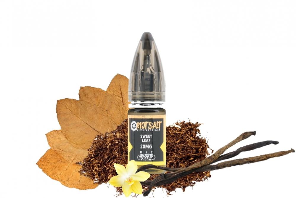 Riot Salt Sweet Leaf Hybrid Nic Salt